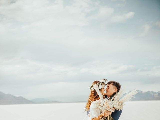 Cody and Abbey's Wedding in Wendover, Utah 8