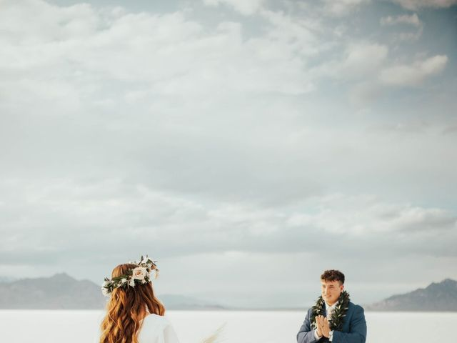 Cody and Abbey's Wedding in Wendover, Utah 10