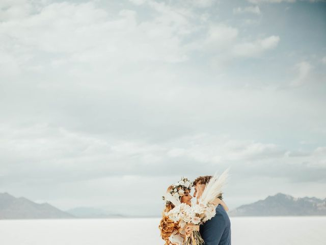 Cody and Abbey's Wedding in Wendover, Utah 11