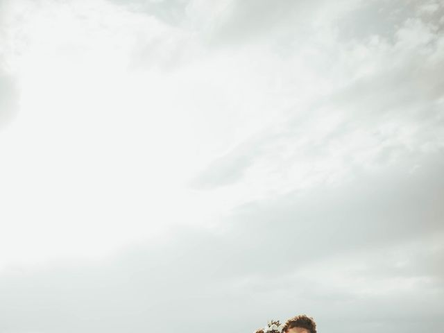 Cody and Abbey's Wedding in Wendover, Utah 12