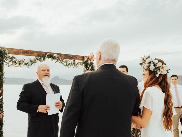 Cody and Abbey's Wedding in Wendover, Utah 18