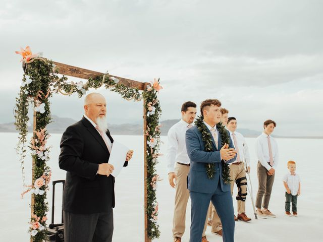 Cody and Abbey's Wedding in Wendover, Utah 20