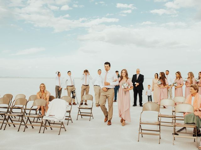 Cody and Abbey's Wedding in Wendover, Utah 21