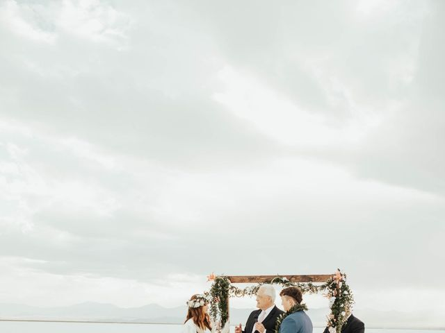 Cody and Abbey's Wedding in Wendover, Utah 29