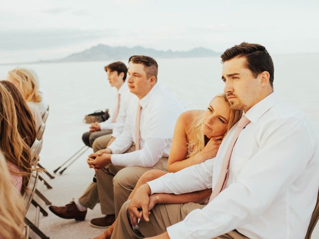 Cody and Abbey's Wedding in Wendover, Utah 33