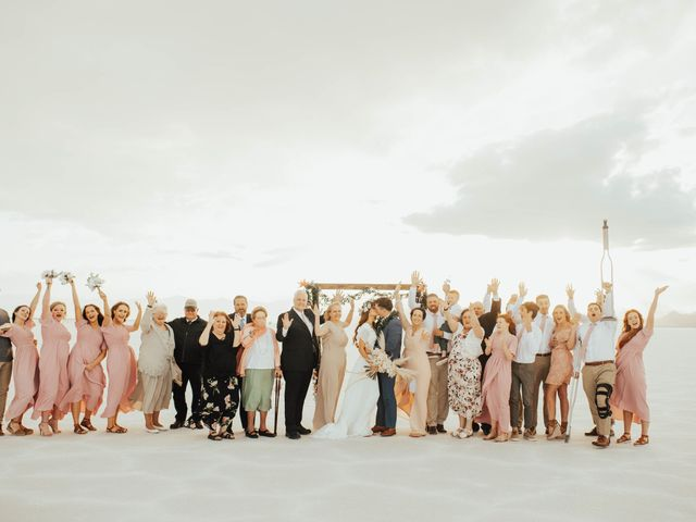 Cody and Abbey's Wedding in Wendover, Utah 41