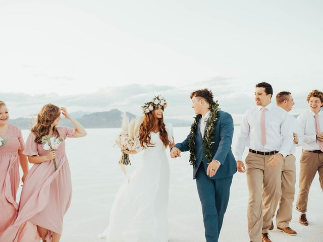Cody and Abbey's Wedding in Wendover, Utah 47