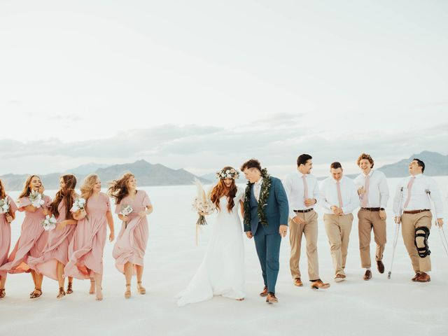 Cody and Abbey's Wedding in Wendover, Utah 48