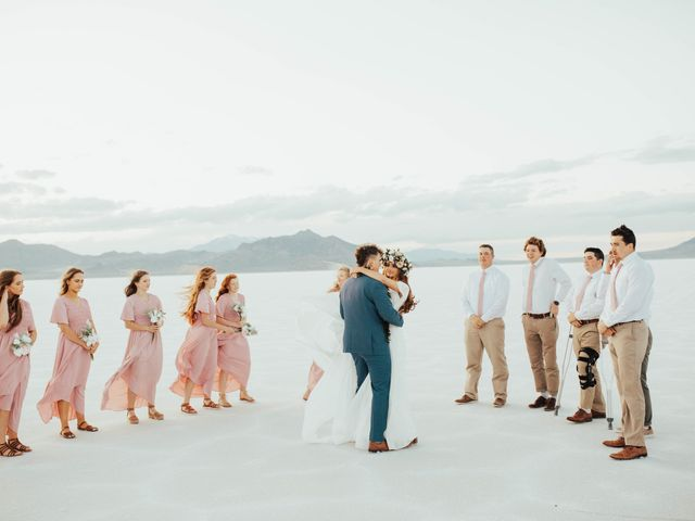 Cody and Abbey's Wedding in Wendover, Utah 58