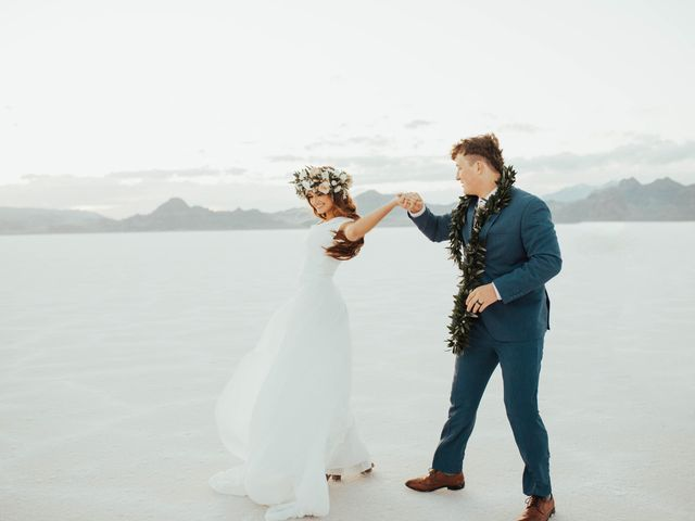 Cody and Abbey's Wedding in Wendover, Utah 66