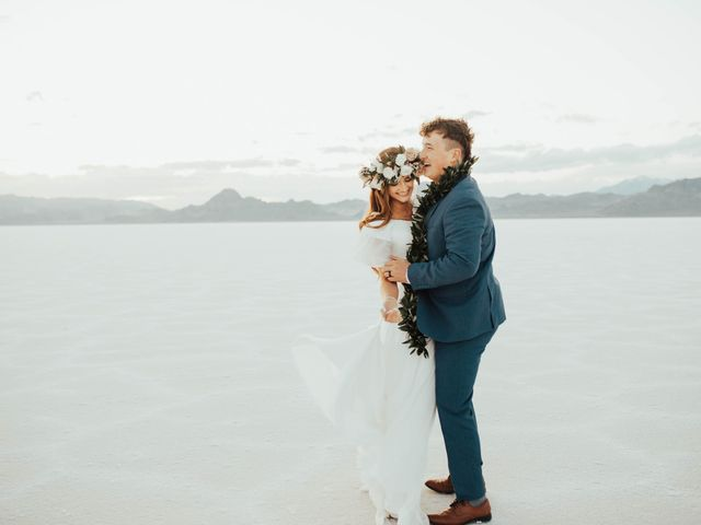 Cody and Abbey's Wedding in Wendover, Utah 68