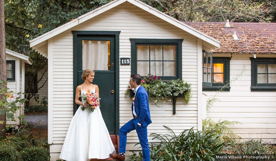 Toby and Brittany's Wedding in Guerneville, California