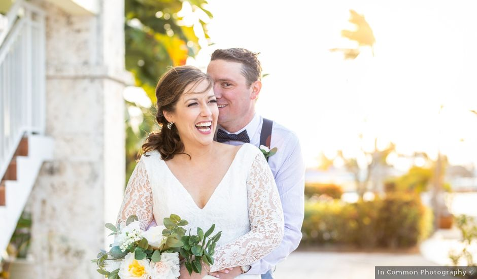 Connor and Anna's Wedding in Key Largo, Florida