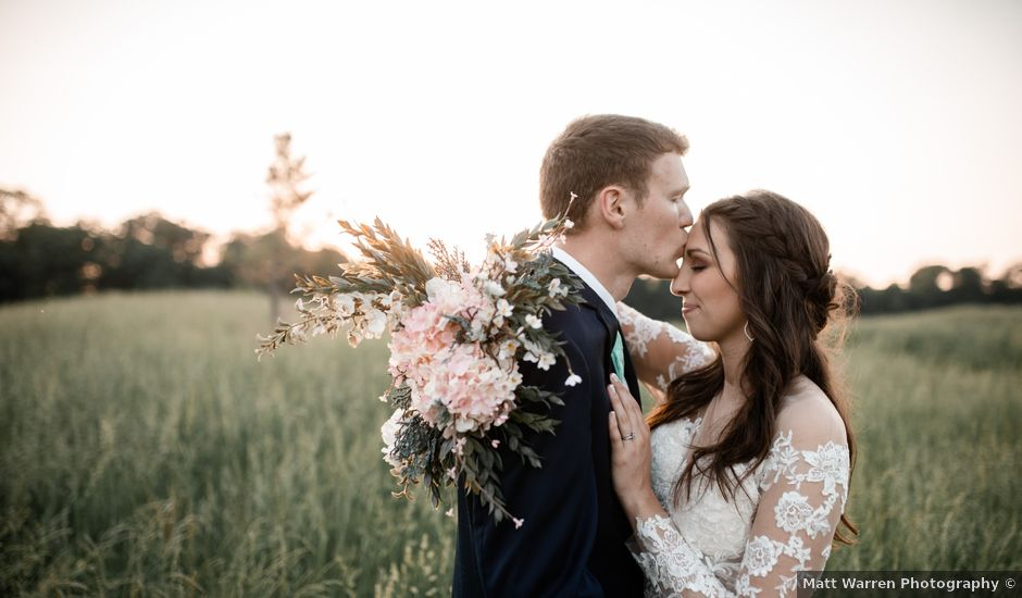 Nathan and Brittany's Wedding in Fairfield, Illinois