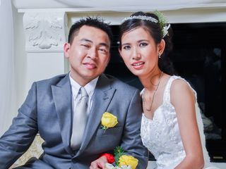 The wedding of Chorvy and Viet