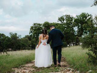 The wedding of Melanie and Gregg 1
