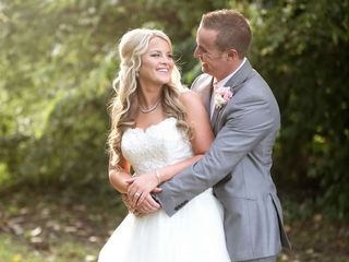 The wedding of Justin and Stephanie