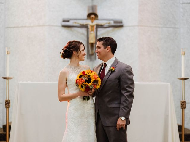 The wedding of Aubery and David