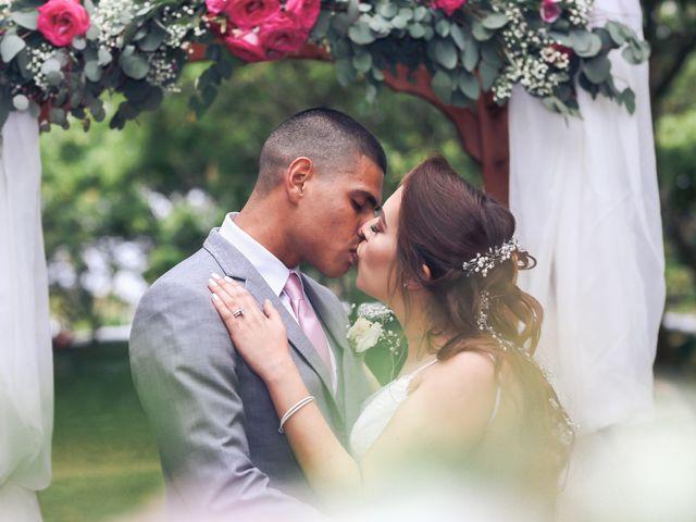 The wedding of Denise and Jordan