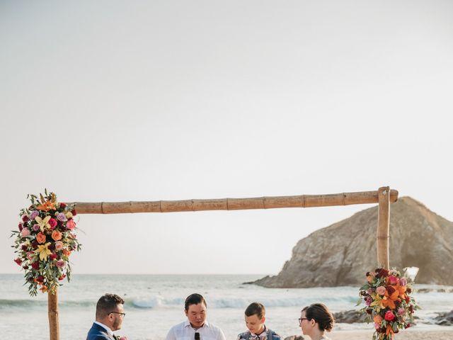 José and Betsy's Wedding in Bahias De Huatulco, Mexico 33