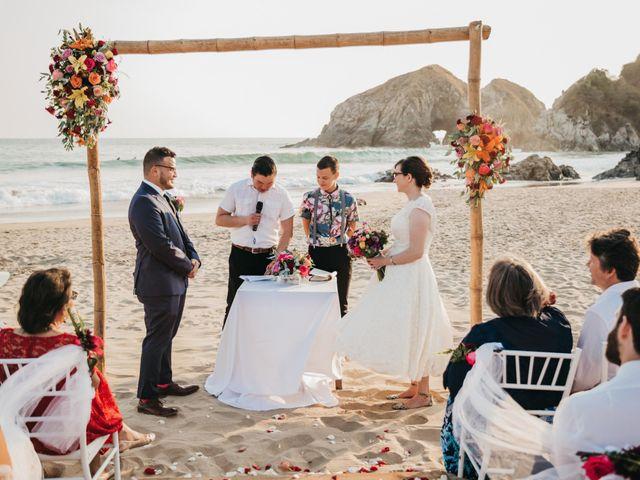 José and Betsy's Wedding in Bahias De Huatulco, Mexico 35