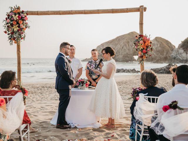 José and Betsy's Wedding in Bahias De Huatulco, Mexico 41