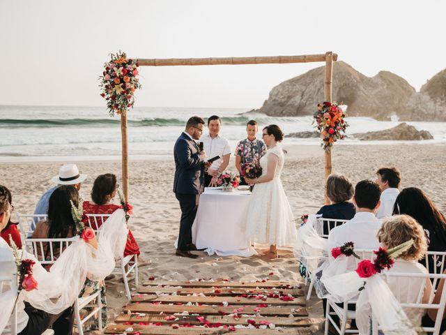 José and Betsy's Wedding in Bahias De Huatulco, Mexico 46