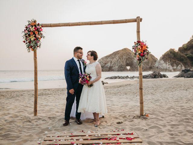 José and Betsy's Wedding in Bahias De Huatulco, Mexico 60