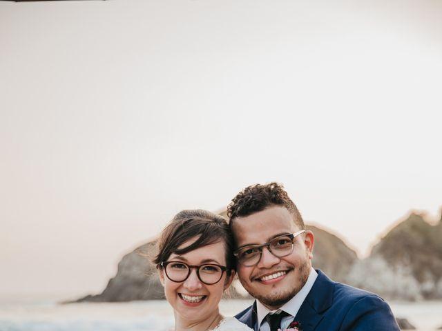 José and Betsy's Wedding in Bahias De Huatulco, Mexico 62