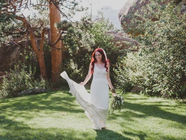 Max and Shannon's Wedding in Estes Park, Colorado 7
