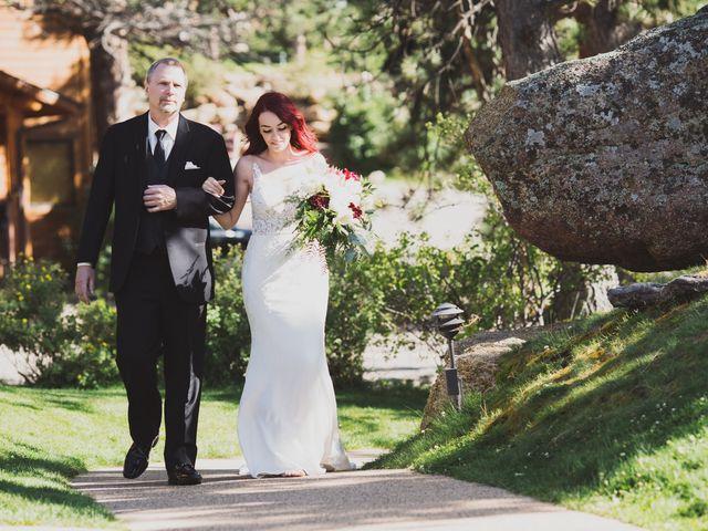 Max and Shannon's Wedding in Estes Park, Colorado 10