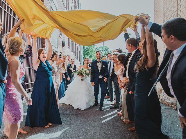 The wedding of Abby and Jonathan