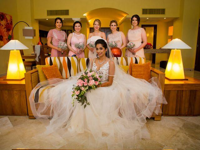 Arthur and Deepika's Wedding in Cancun, Mexico 20