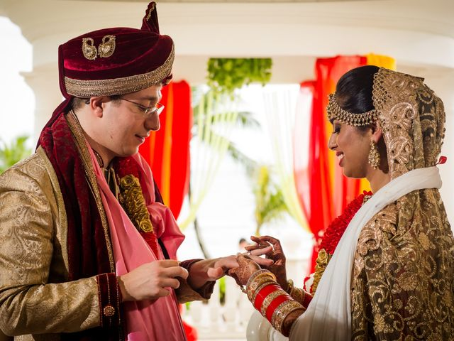 Arthur and Deepika's Wedding in Cancun, Mexico 38