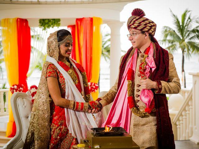 Arthur and Deepika's Wedding in Cancun, Mexico 39