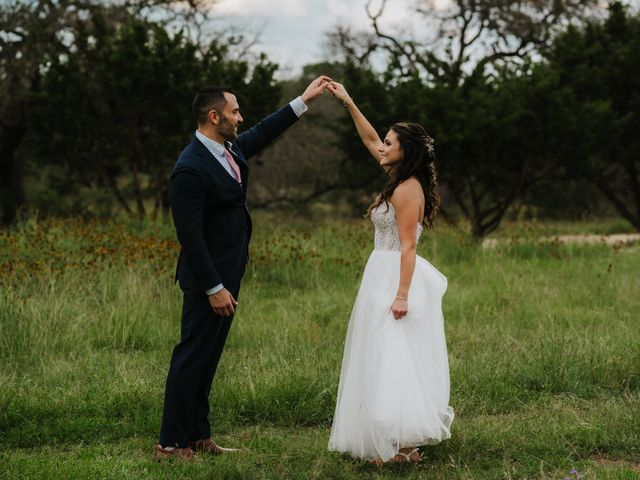 Gregg and Melanie's Wedding in Dripping Springs, Texas 12