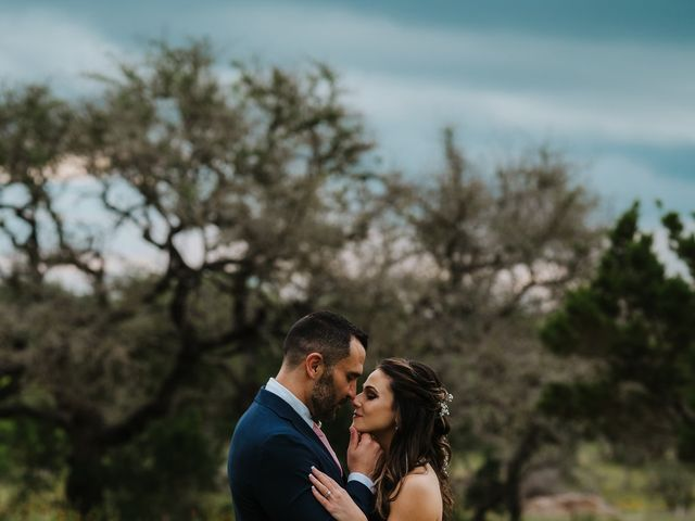 Gregg and Melanie's Wedding in Dripping Springs, Texas 14