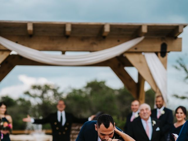 Gregg and Melanie's Wedding in Dripping Springs, Texas 16