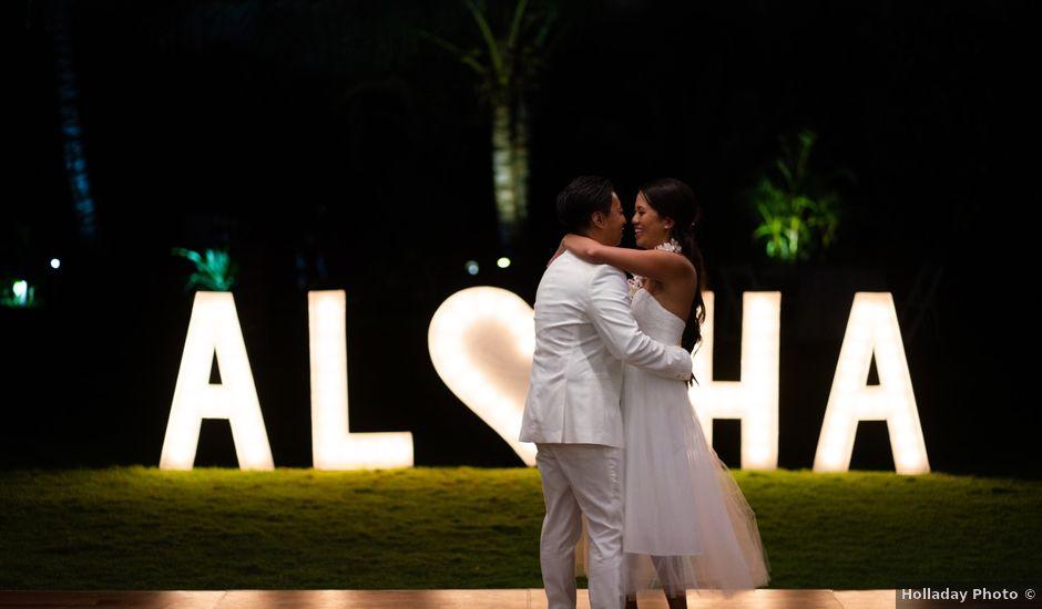 Dan and Kim's Wedding in Haleiwa, Hawaii