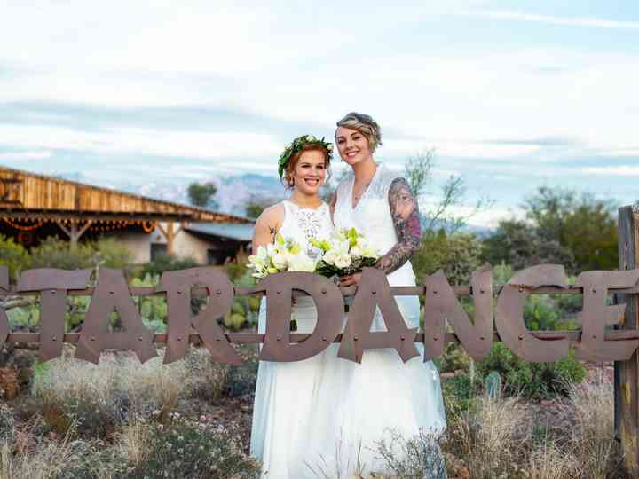 The wedding of Cameron and Jacqueline