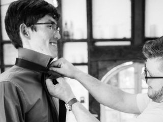The wedding of Logan and Aaron 1