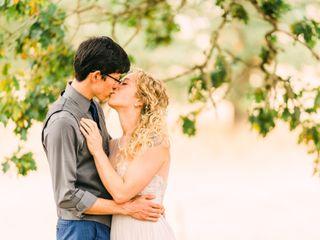 The wedding of Logan and Aaron