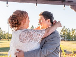 The wedding of Rebecca and Tyler