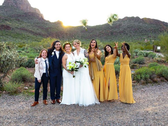 Jacqueline and Cameron's Wedding in Tucson, Arizona 19