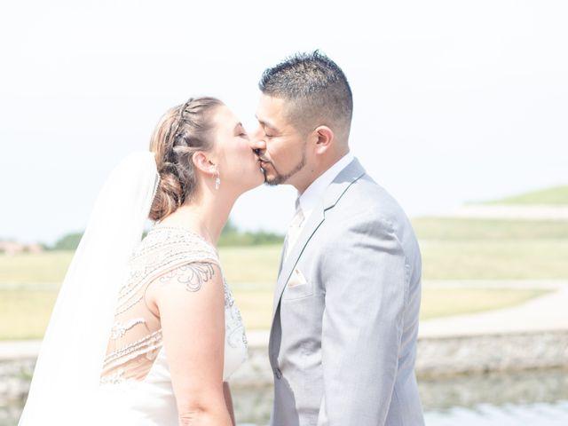 The wedding of Melinda and Eli