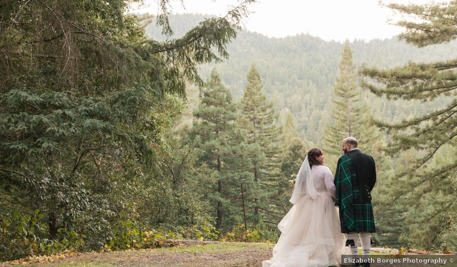 Scott and Shaylyn's Wedding in Leggett, California