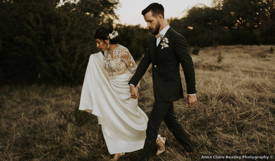 Garrett and Victoria's Wedding in Dripping Springs, Texas