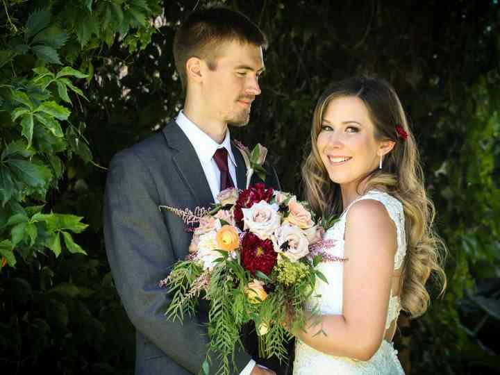 The wedding of Matt and Chynna