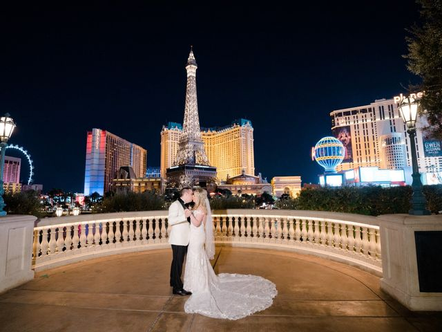 David and Erin's Wedding in Las Vegas, Nevada 84