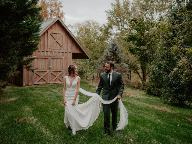 The wedding of Sophie and Gabe